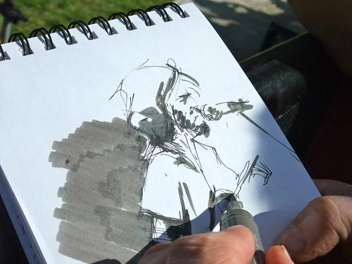 Drawing Bon Iver