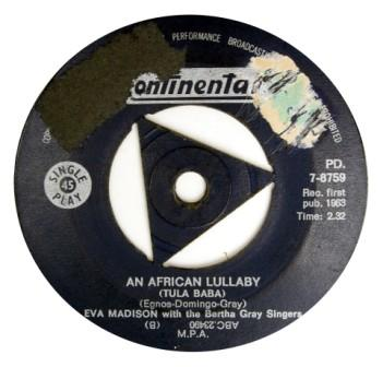 Eva Madison -an african lullaby