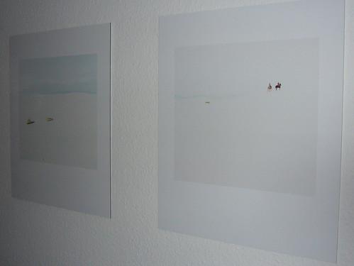 Neue Fotos an der Wand