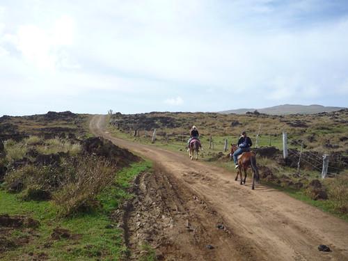 a caballo pascuense