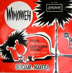 miriam makeba -mbube wimoweh cover