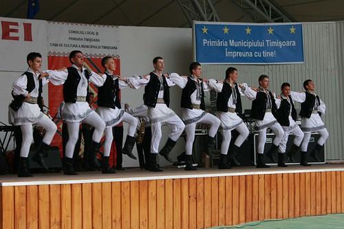 Romanian dance