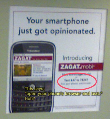 Zagat Mobile Ad