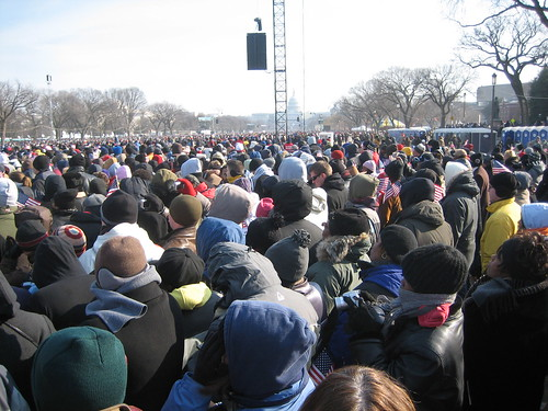 The Crowds at Inauguration