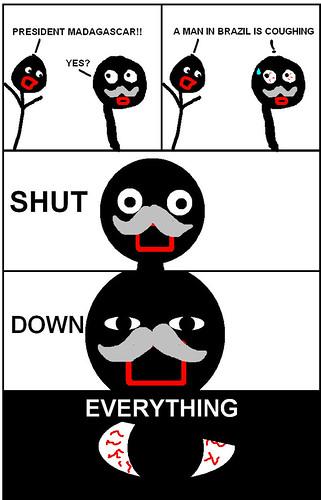 Down Meme Still Government Shut