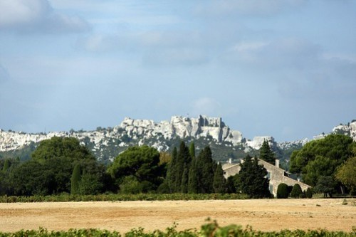 Our drive today through Arles and neighboring hilltowns in the South of France