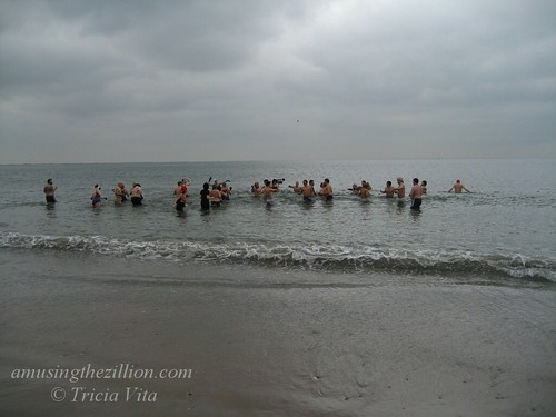 Polar Bear Swim on March 16, 2008, Coney Island's Opening Day of the Season. Photo © Tricia Vita/me-myself-i via flickr