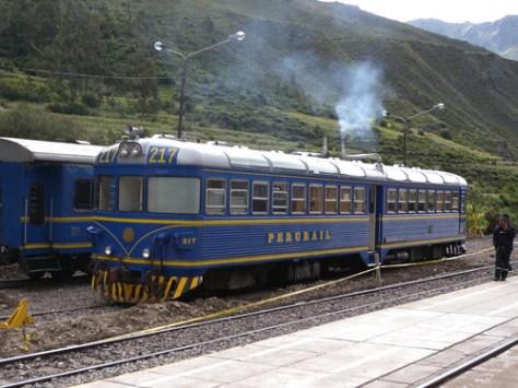 Peru Rail - Ollanta to Aguas Calientes