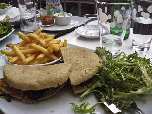 Arab Lamb Sandwich