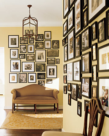 the estate of things chooses photo wall display