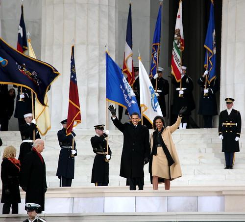Barack & Michelle Go to Washington