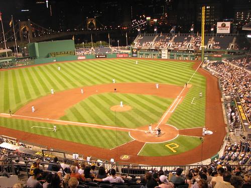 Fantástica vista do estádio