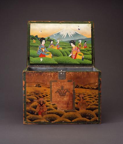 Tea Chest Japan, early 20th century