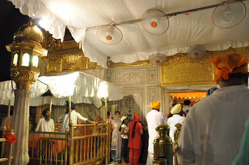 Actual golden temple entrance