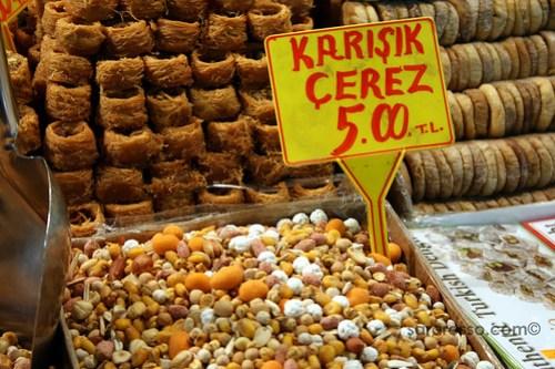 Snacks, Spice Bazaar, Istanbul, Turkey