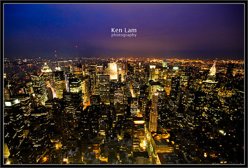 View from the Empire State Building- Ken Lam photography by you.
