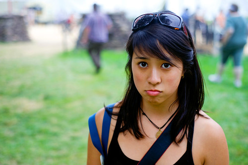 This is my pouty face. In this photo by Jeff, I am pouting for probably no reason whatsoever at the Smithsonian Folklife Festival. Right now, Im not pouting so much as Im sad this summer and internship are over.