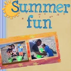 Summer 09 beach
