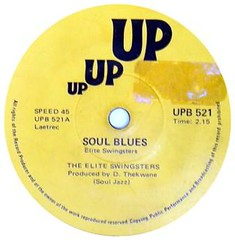the elite swingsters -soul blues label