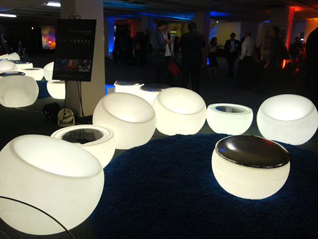 cool light up lounge chairs