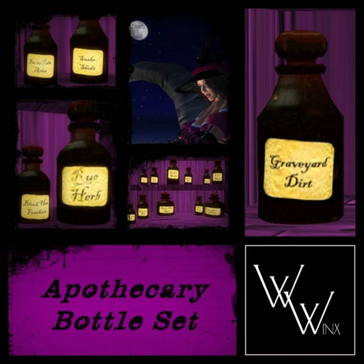 Winx-Apothecary Bottles Ad