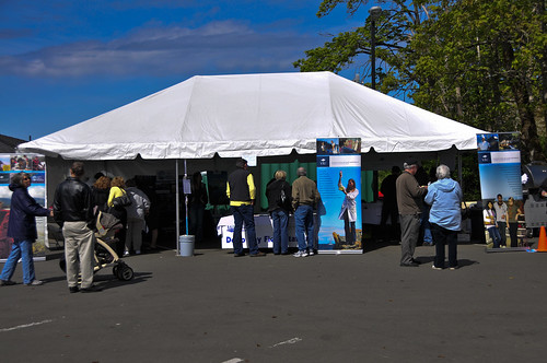 Deep Bay Harbour Festival Booth