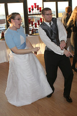 Bride & bridesman gettin down!