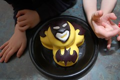 The Batman Head Cake for Beau