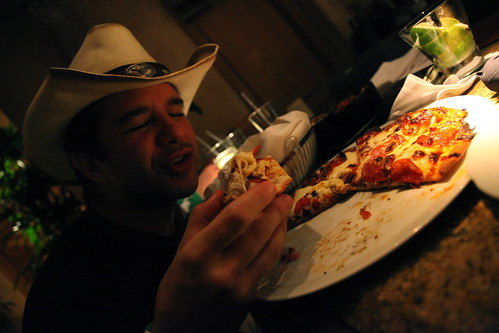 SxSW - late night pizza at the Four Seasons