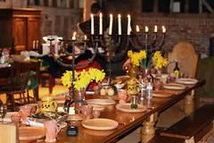 Table for Tudor Feast