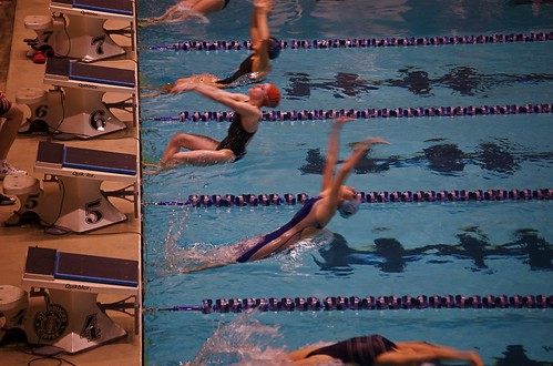 Swimming event at WKCAC