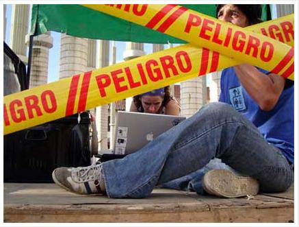Vj Peligro. Festival Pixelache