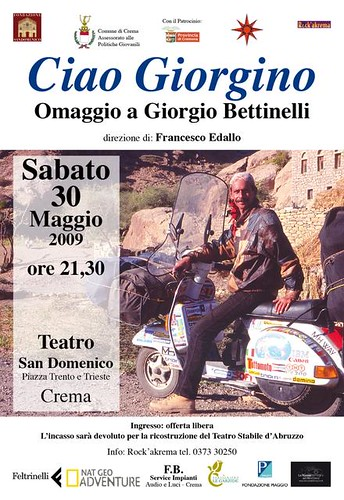 Tributo a Giorgio Bettinelli