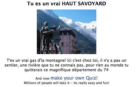 es tu un vrai haut savoyard ? sur Facebook by you.