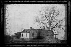 Old Farmhouse Textured