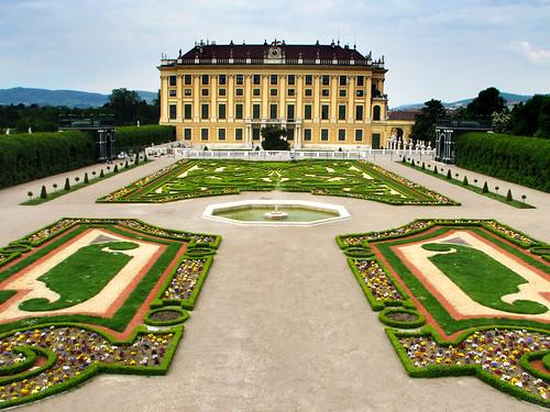 Privy Garden - Schonbrunn Palace, Vienna by you.