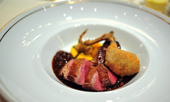 5th Course: Squab Breast and Confit Leg