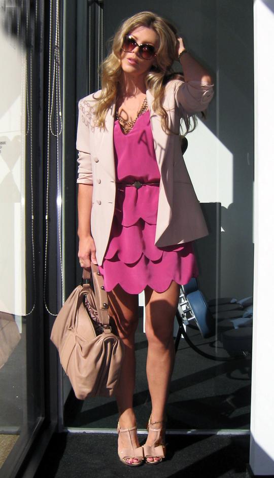 berry-scallop-dress-beige-blazer-4