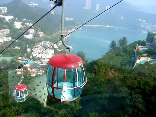 view from cable car 2