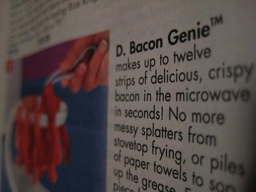 D. Bacon Genie™ by Erik Mallinson.