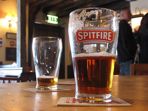 Spitfire, un des classiques de Shepherds Neame
