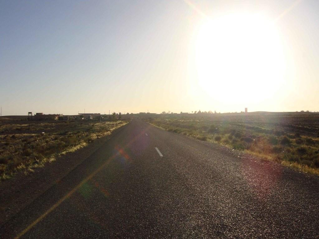 Carretera hacia Erfoud