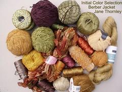 Initial Color Selection - Berber Jacket P7050185