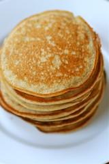 Vegan pancakes plain