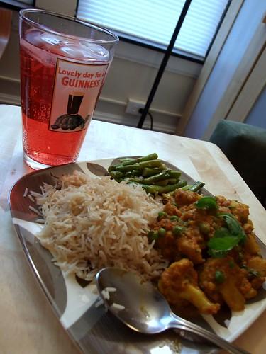 big indian dinner
