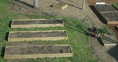Back Yard Boxes Arial View