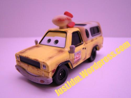 Disney CARS Pizza Planet Truck Todd
