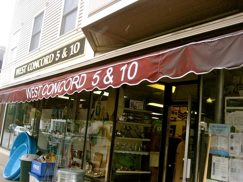 West Concord 5&10 Awning
