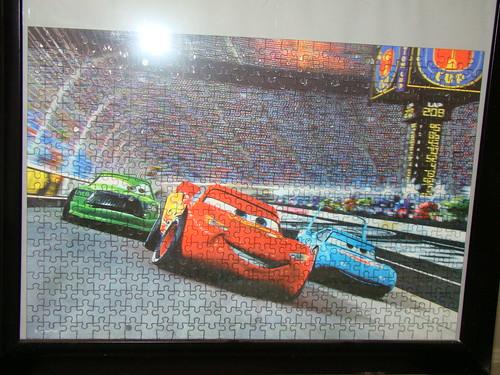 disney pixar CARS jigsaw puzzles