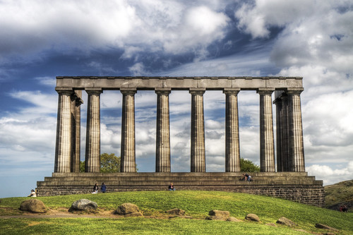 Unfinished Monument, Calton Hill